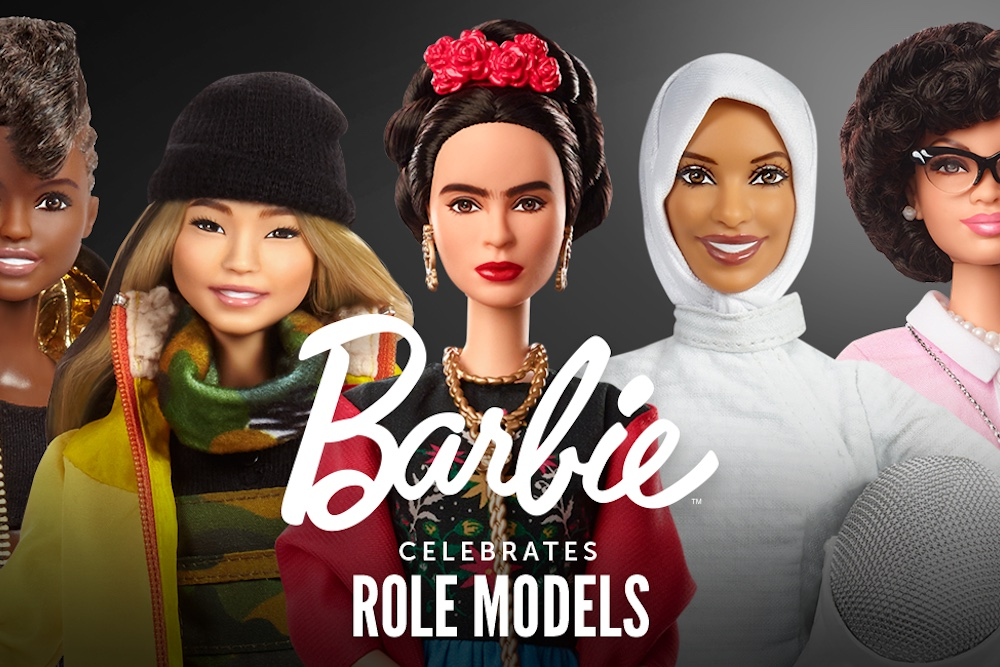 Barbie Highlights Inspirational Women Throughout History