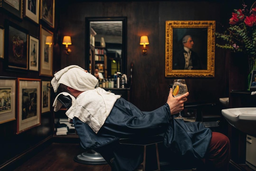 Londoners Can Snag A Special Shave and Drink This Saint Patrick's Day