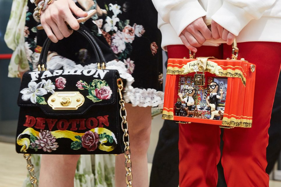 Dolce & Gabbana Uses Drones As Models At Its Fall 2018 Runway Show
