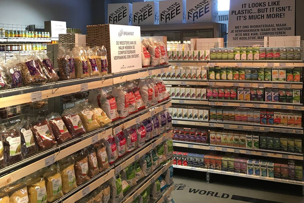 A Plastic-Free Supermarket Aisle Has Opened In Amsterdam