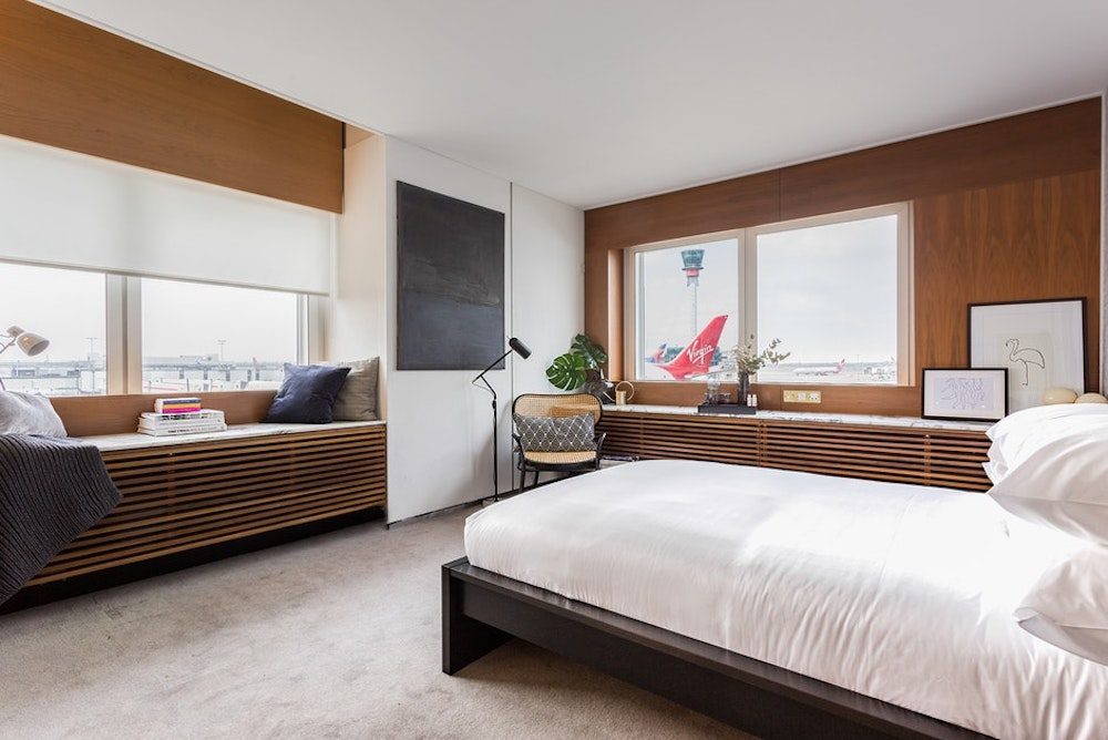 Pop-Up Bedroom Lets Travelers Rest Easy In London's Heathrow