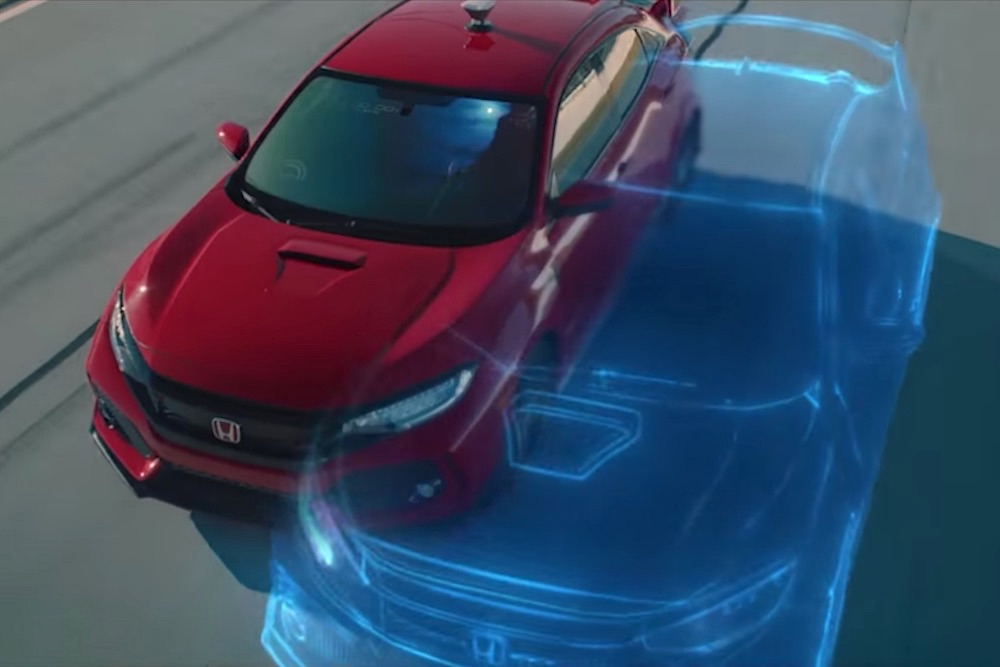 Honda Stages A Race Between A Real Car And Video Game Copy