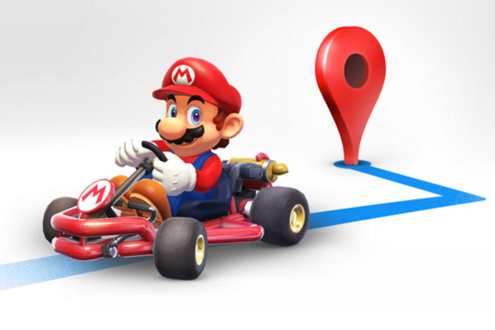 Take A Ride With Mario On Your Next Google Maps Trip