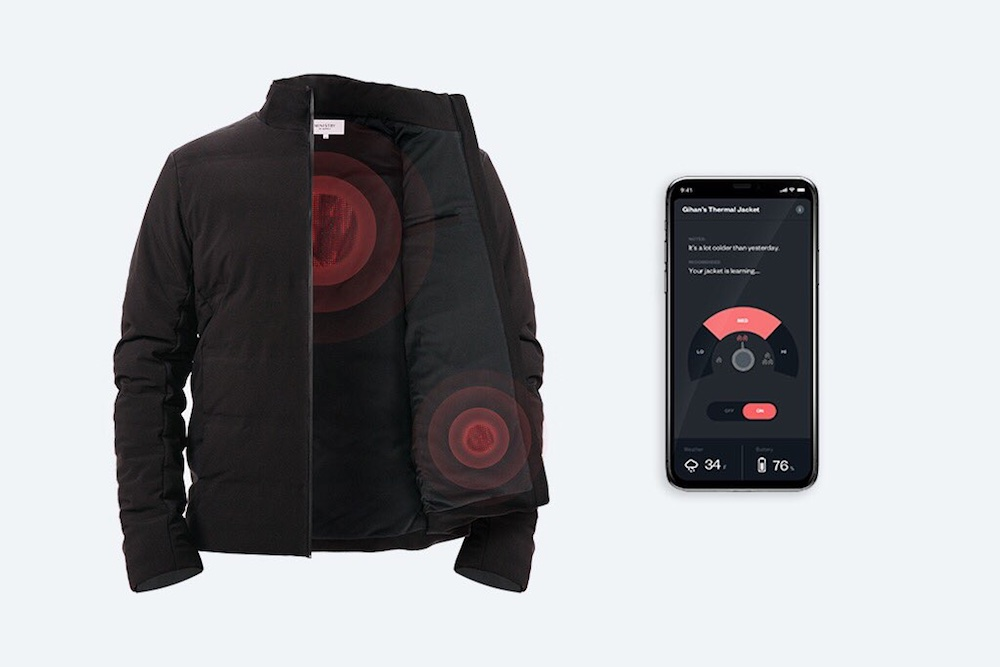 App-Connected Jacket Adjusts To All Types Of Weather