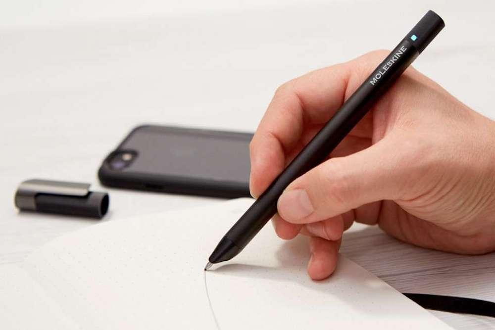 Moleskine Pen Saves Your Writing Digitally Even While Offline