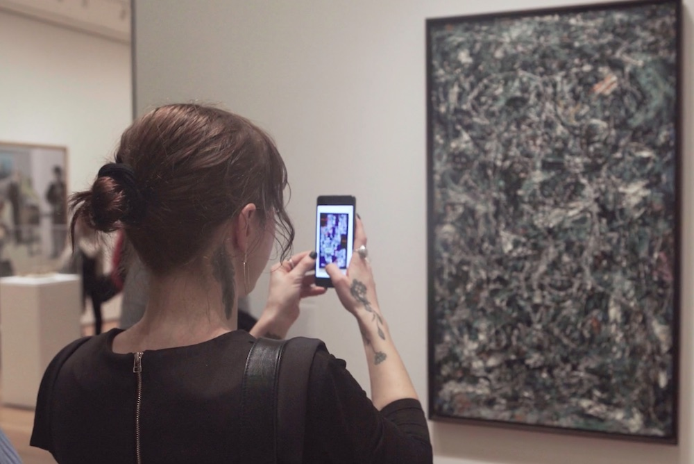Augmented Reality 'Gallery' At MoMA Allows Viewers To Virtually Alter Art