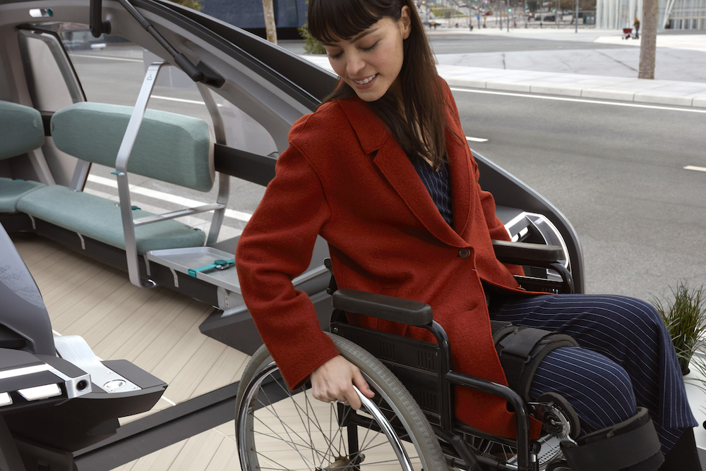 Renault Mobility Concept Improves Transit Experience For People With Disabilities