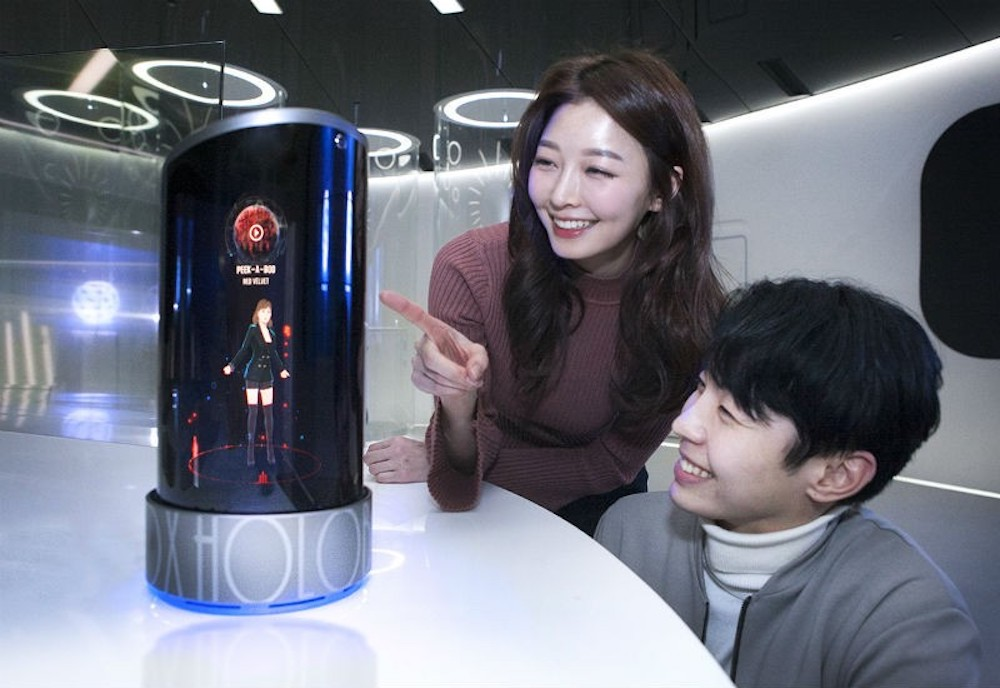 This Holographic Digital Friend Will Live Inside Your Phone