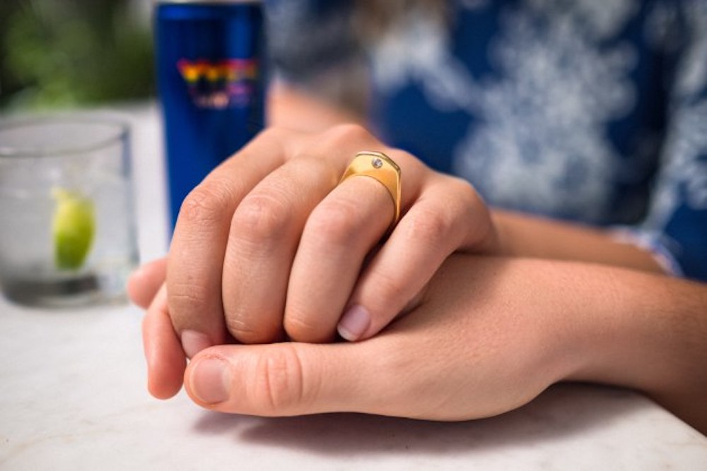 Skyy Vodka Is Selling Engagement Ring Cans to Celebrate Marriage Equality