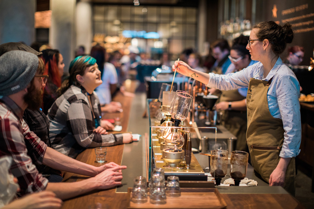 Starbucks' Marketplace-Style Flagship Takes Customers Behind The Brand