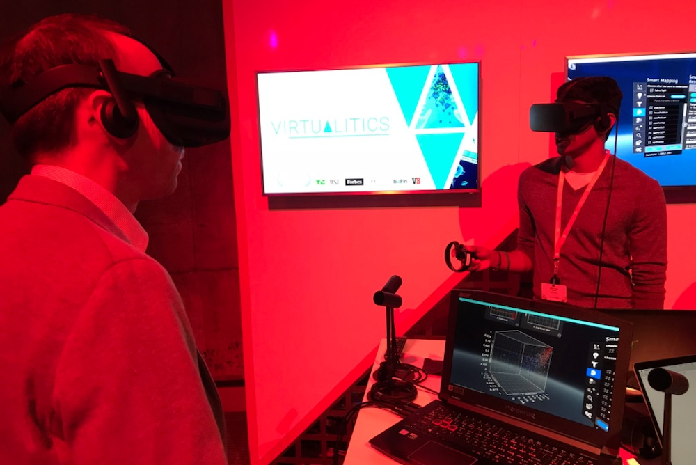 VR Program Immerses Researchers In Data Visualizations