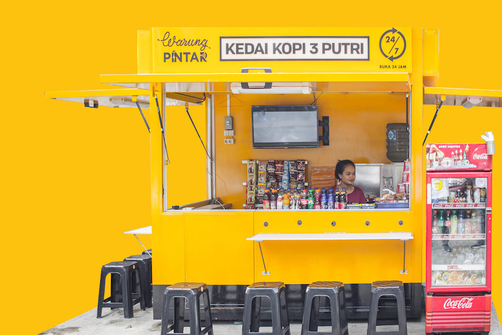 Investors In Indonesia Equip Street Vendors With Modern Retail Tech