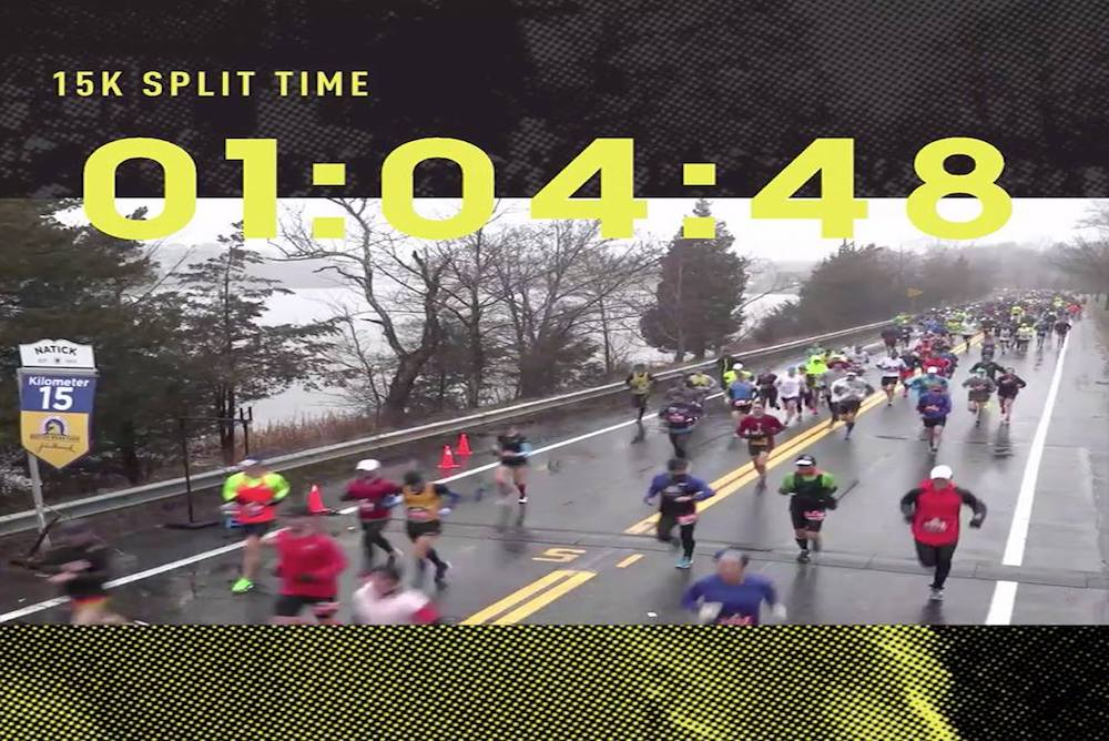 Adidas Personalized Videos For 30,000 Boston Marathon Runners