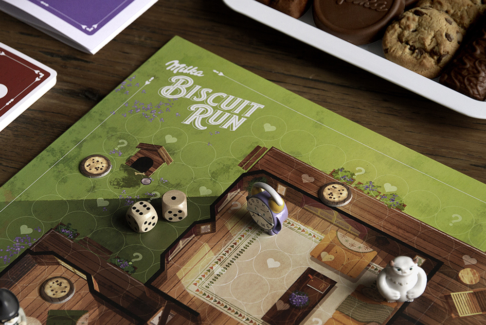 Milka Created A Cookie-Themed Board Game