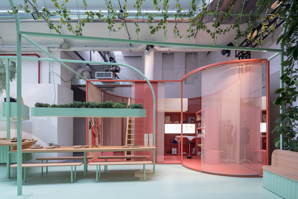 Mini's Shared Living Concept Proposes Residential Co-Creation