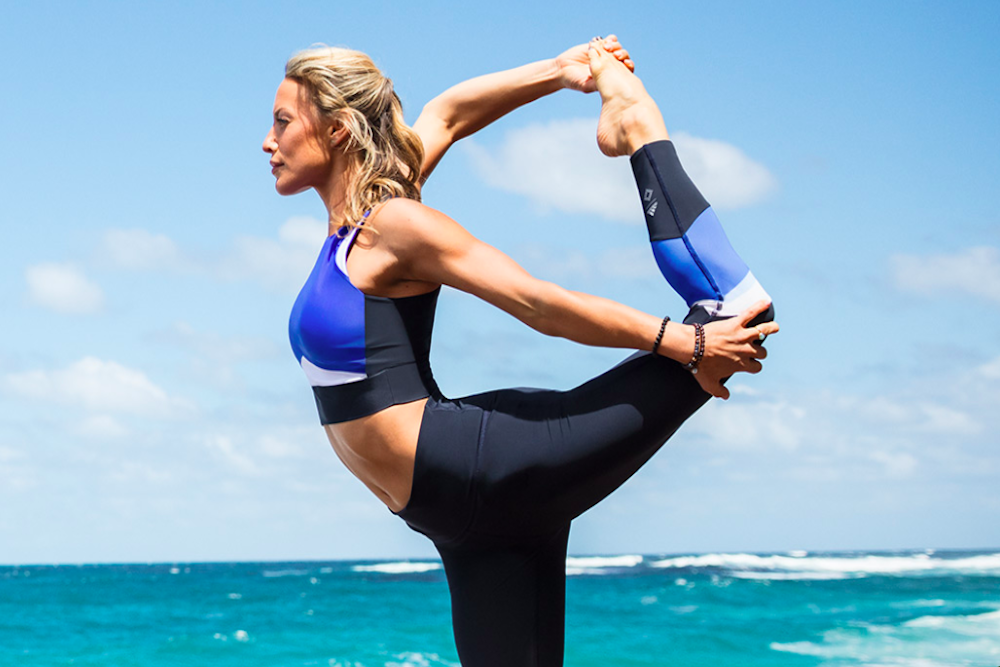 Adidas' New Yoga Line Is Made From Recycled Plastic