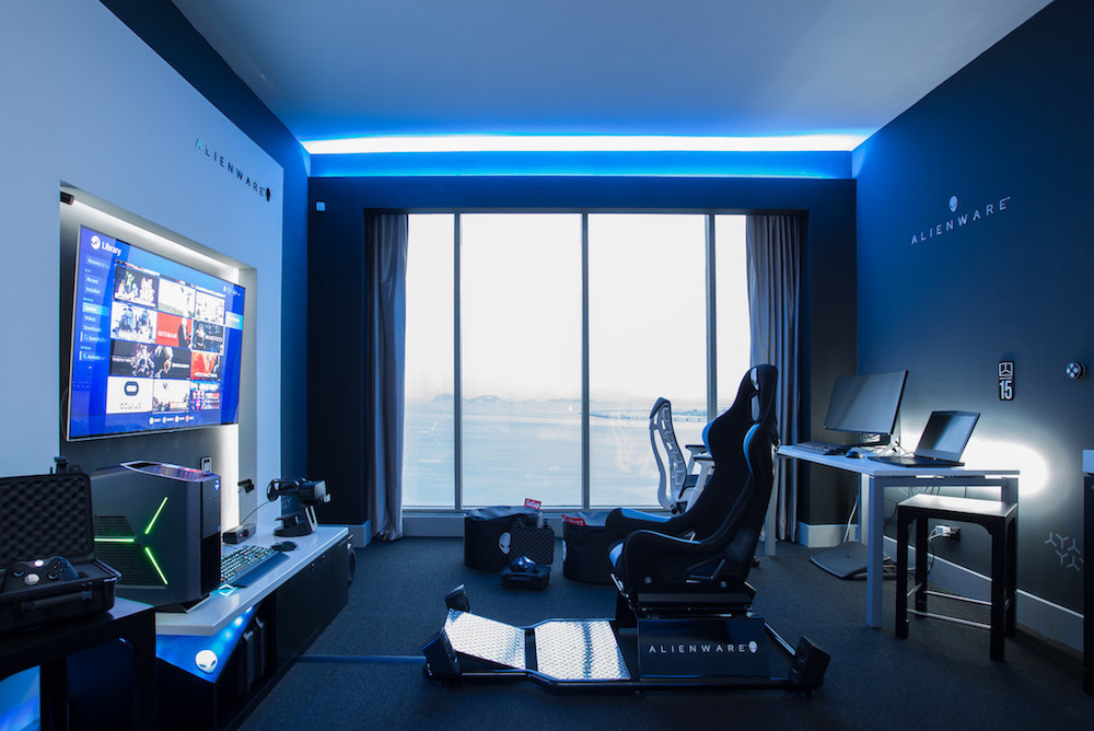 Tricked-Out Hotel Room Is A Gamer's Paradise