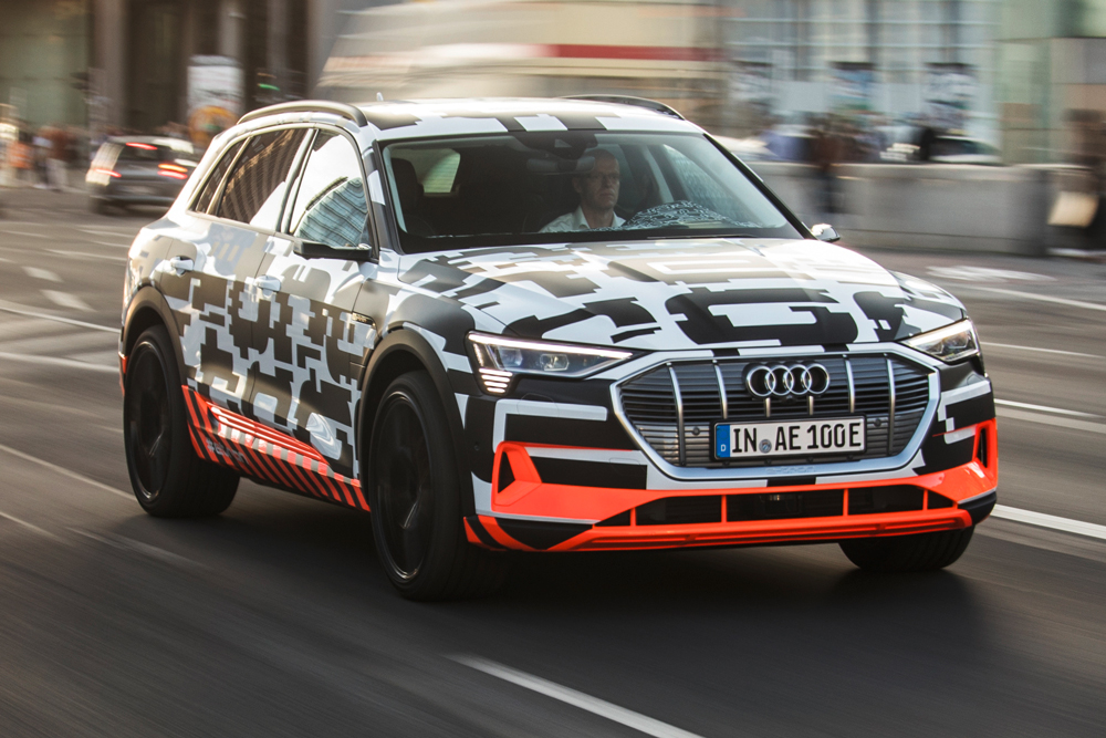 Audi\'s Lure For Electric Car Buyers Is Less Waiting