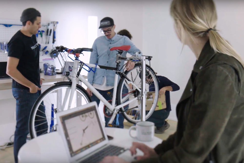 An Extra Safe Bike Promotes Toyota's New Safety Features