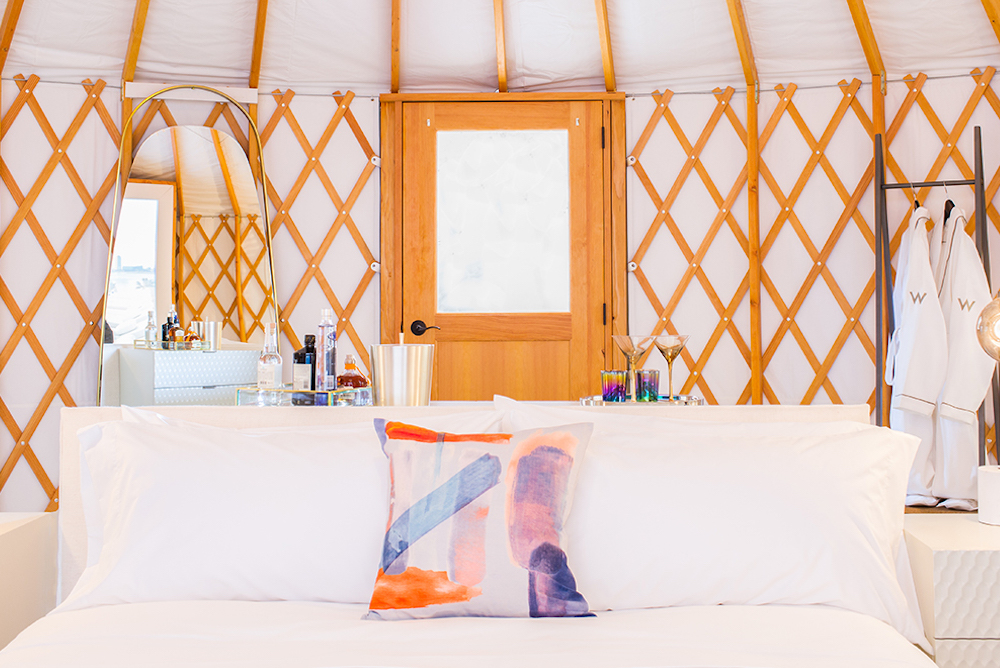 Marriott Hotel Offered Guests Chic Pop-Up Hotel Rooms At Coachella