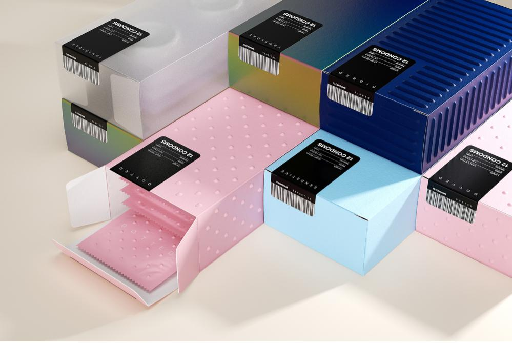 Packaging Turns Buying Condoms Into A Tactile Experience