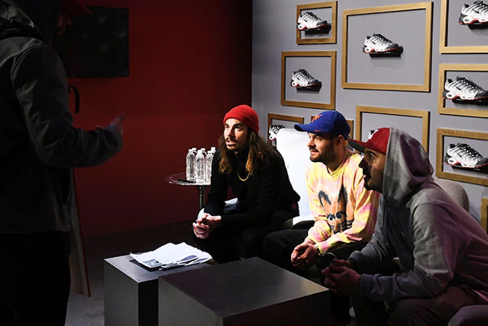 Foot Locker Commissions Artwork To Showcase Success And Sneakers