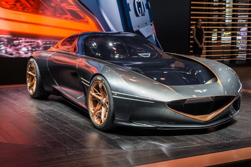 Genesis Electric Concept Car Celebrates Escapist Cruising
