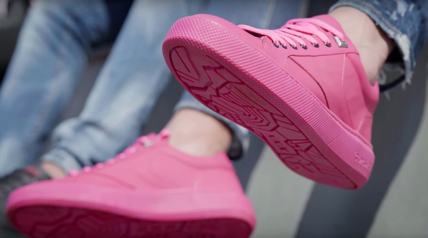 Sustainable Sneaker Is Made From Chewing Gum