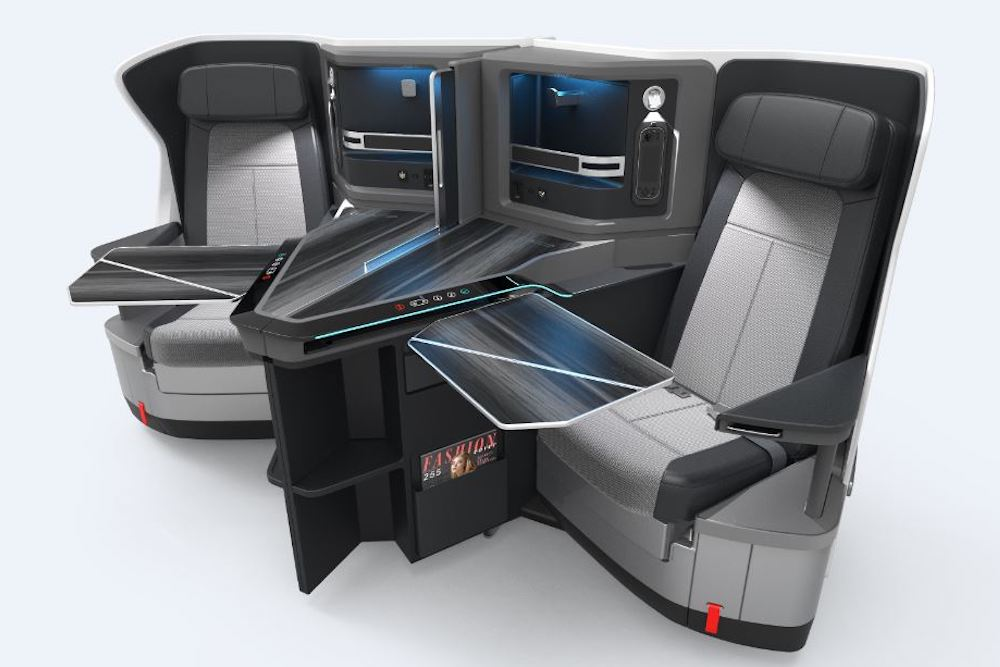 KLM's Newest Business Class Seats Cushion Passengers With Privacy