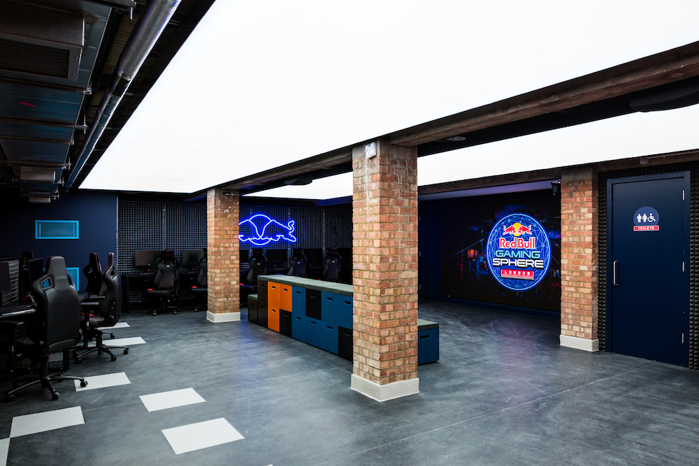 Red Bull Opens An Underground Gaming Haven In London