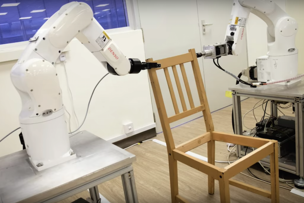 Could Robots One Day Assemble Flat-Pack Furniture?