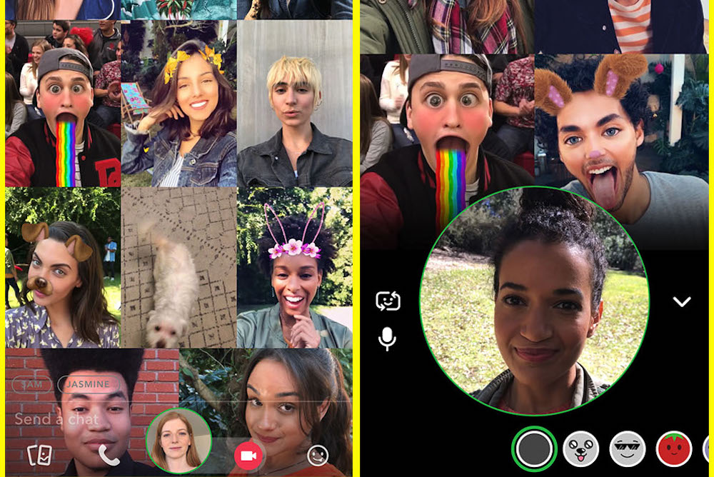 Snapchat Users Can Now Group Chat And Mention Each Other