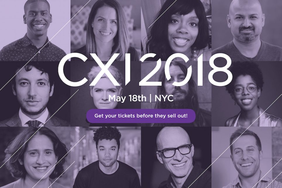 Our CXI 2018 Agenda Announced!