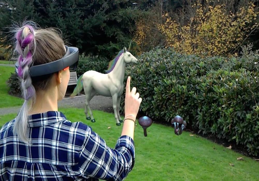 Microsoft's New Virtual Touchscreen Enhances Mixed Reality