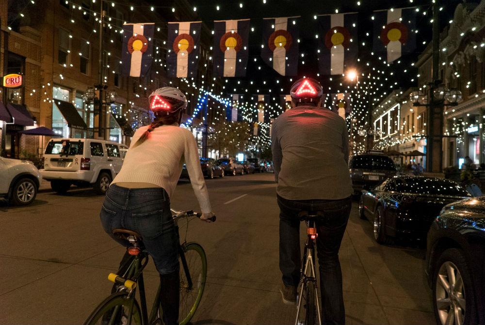 Bike Helmet Recognizes Hand Gestures To Send Safety Signals