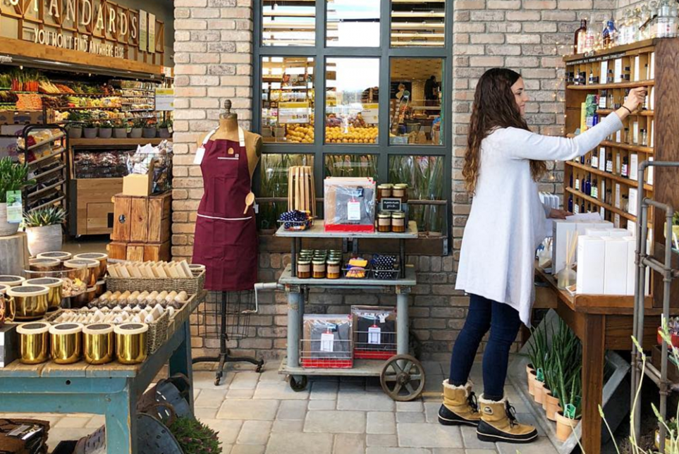 Whole Foods Encourages Shoppers To Hang Around At New Home Emporium