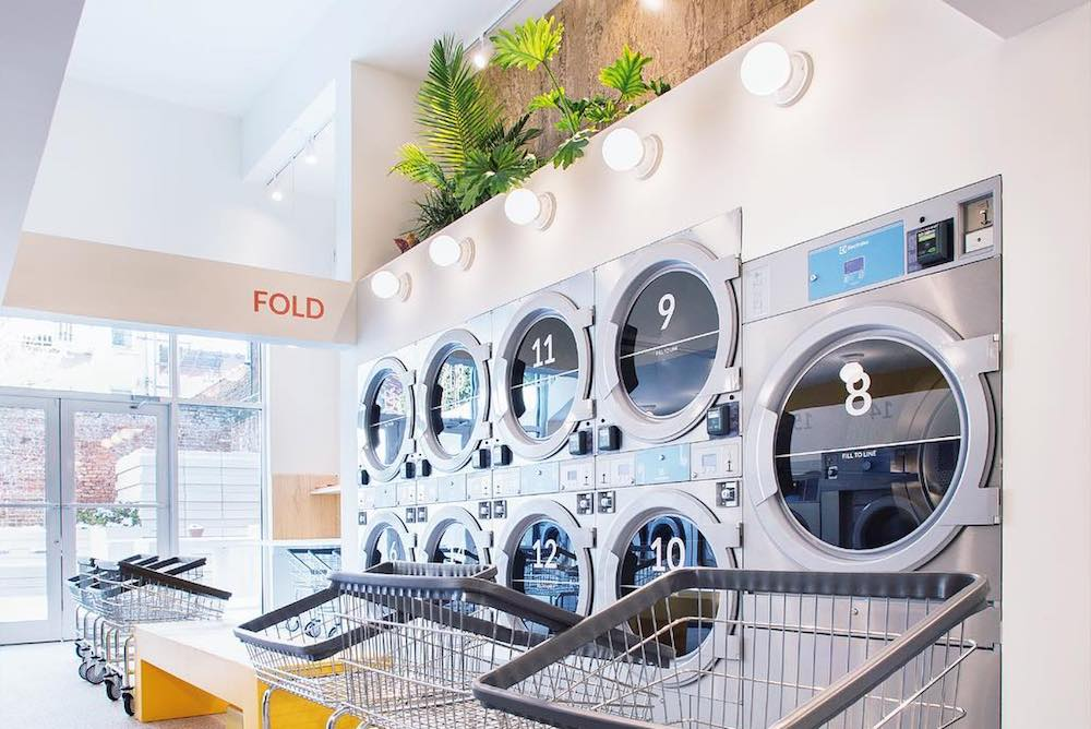 This Eco-Friendly Laundromat Doubles As A Health-Conscious Lounge