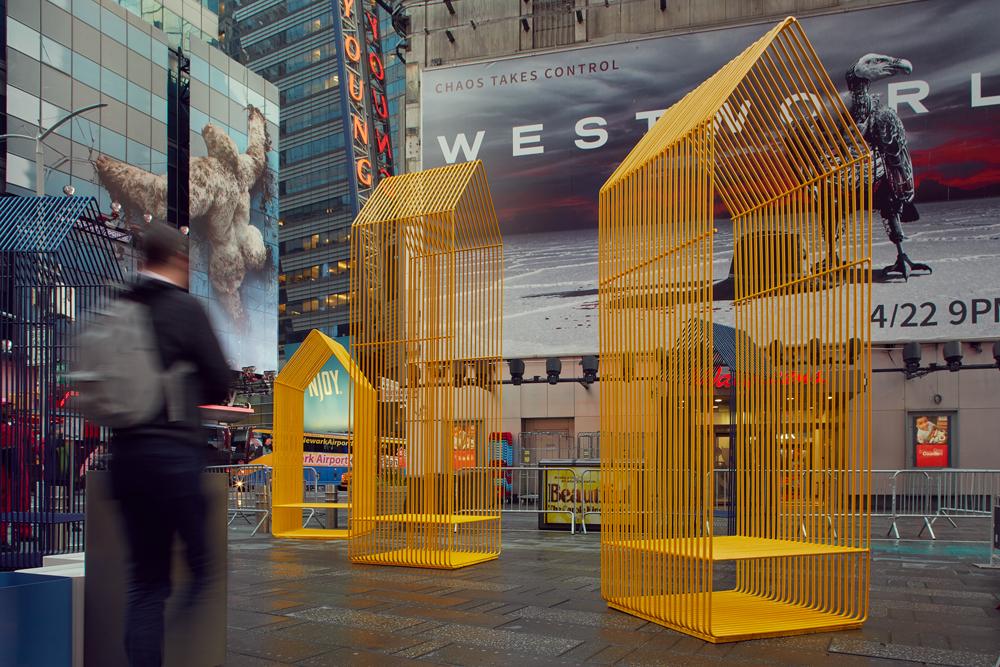 Times Square Design Lab Invites The Public To Test Furniture Prototypes