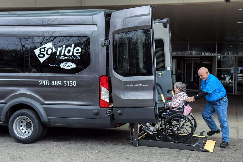Ford Mobility Service Ensures Patients Never Miss A Doctor's Appointment