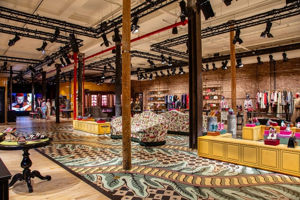Gucci's Experiential Store Encourages Exploration And Discovery