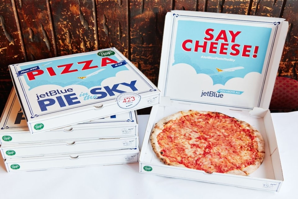 JetBlue Promo Delivers A Slice Of New York To LA