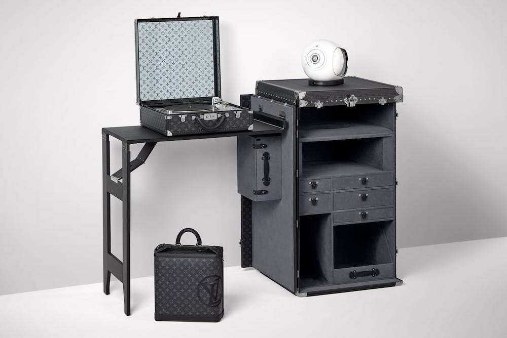 Louis Vuitton DJ Trunk Appeals To Millennial Taste For Home Sound Systems
