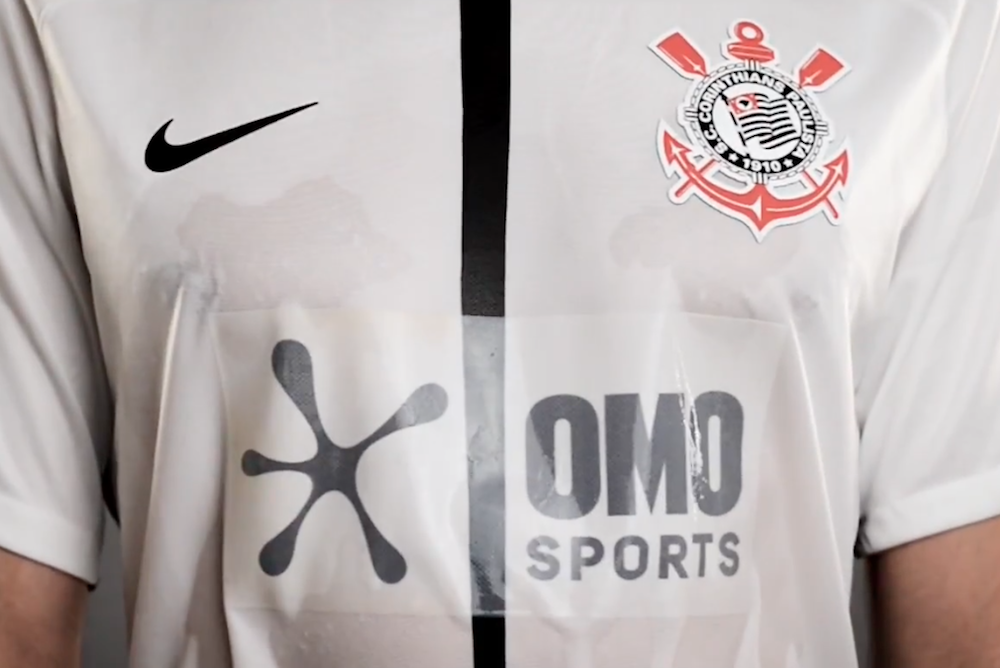 Laundry Brand's Invisible Logo Activates When Players Work Up A Sweat