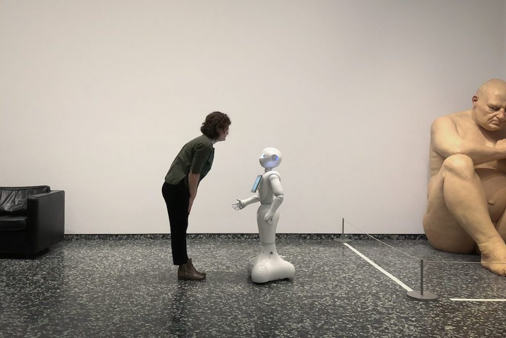 The Smithsonian Museum Trials Social Robots As Tour Guides