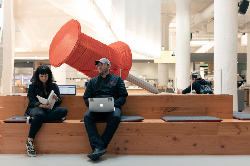 The Cafe Gets A Silicon Valley Makeover At Pinterest