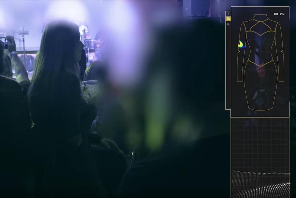 Schweppes Uses A Sensing Dress To Track Harassment In Social Settings