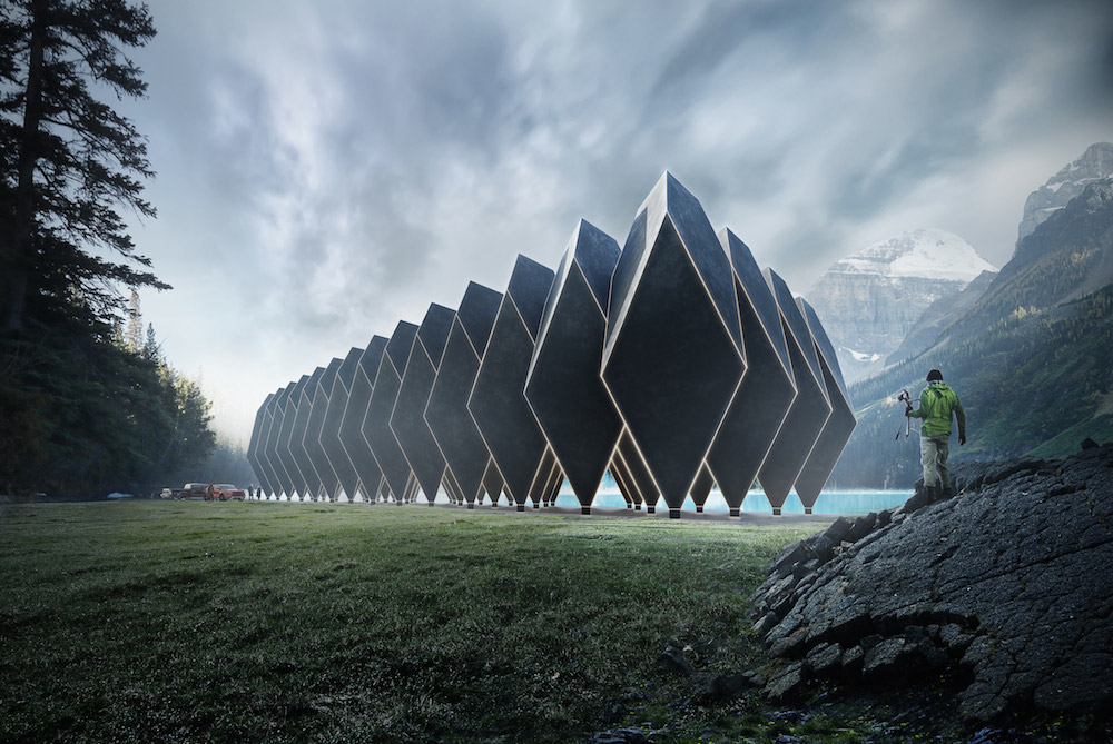 Carbon-Neutral Modular Hotel Can Move Between Remote Locations