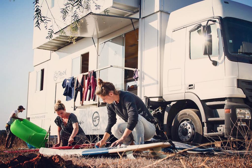 This Truck Hotel Offers Travelers Flexibility Of Destination