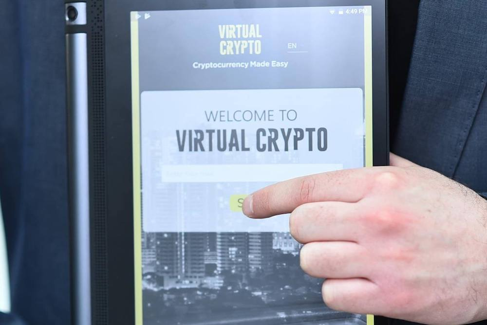 Retail Tablet Device Enables Cryptocurrency Transactions In Real Time