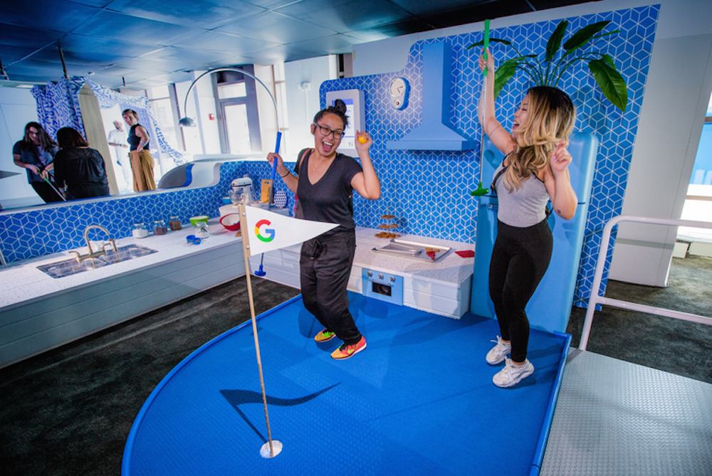 Google Created An AI-Powered Mini Golf Course To Promote Its Home Speakers